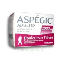 Aspegic Adultes 1000 Mg, Poudre Pour Solution Buvable En Sachet-dose 20 à Bordeaux