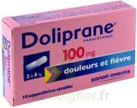 Doliprane 100 Mg Suppositoires Sécables 2plq/5 (10) à Bordeaux