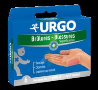 Urgo Brulures-blessures Petit Format X 6 à Bordeaux