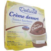 Delical Creme Dessert Hp Hc Sans Lactose, Pot 200 G X 4 à Bordeaux