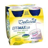 Delical Effimax 2.0 Fibres, 200 Ml X 4 à Bordeaux