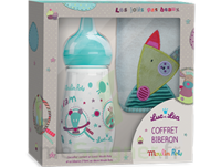 "Coffret Biberon 270 Ml + Bavoir ""collection Capsule Moulin Roty"" à Bordeaux"