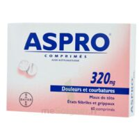 Aspro 320 Mg, Comprimé à Bordeaux