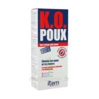 Item K.o. Poux Gel Crème Anti-poux 100ml+peigne Fin à Bordeaux