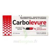 Carbolevure Gélules Adulte Plq/30 à Bordeaux