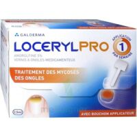 Locerylpro 5 % V Ongles Médicamenteux Fl/2,5ml+spatule+30 Limes+lingettes à Bordeaux