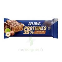 Apurna Barre Hyperprotéinée Crunchy Chocolat Noisette 45g à Bordeaux