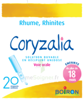 Boiron Coryzalia Solution Buvable Unidose B/20 à Bordeaux